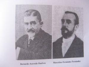 Bernardo Acevedo y Huelves y Marcelino Fernández