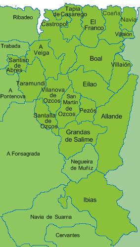 municipios fala galega de asturias